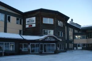 Hotell Lappland i Lycksele.