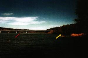 Ekolsundsbron där kroppen anträffades 2002.