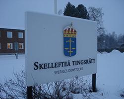 25-åringen häktades av Skellefteå tingsrätt. © Crimecentral