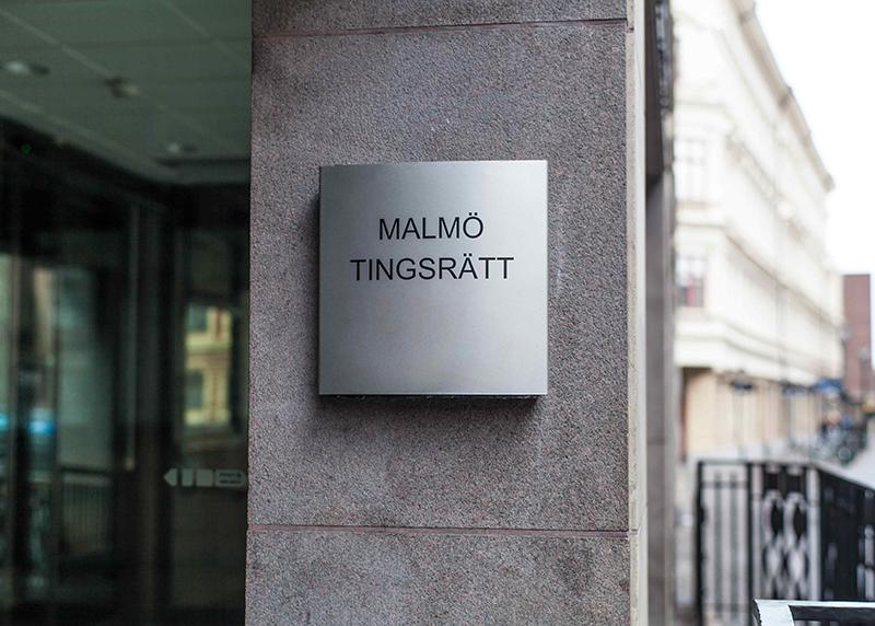 Åtalet är väckt vid Malmö tingsrätt.