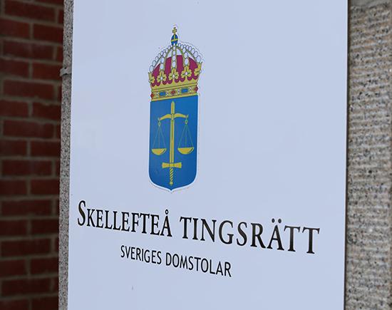 Åtalet är väckt vid Skellefteå tingsrätt. © Crimecentral