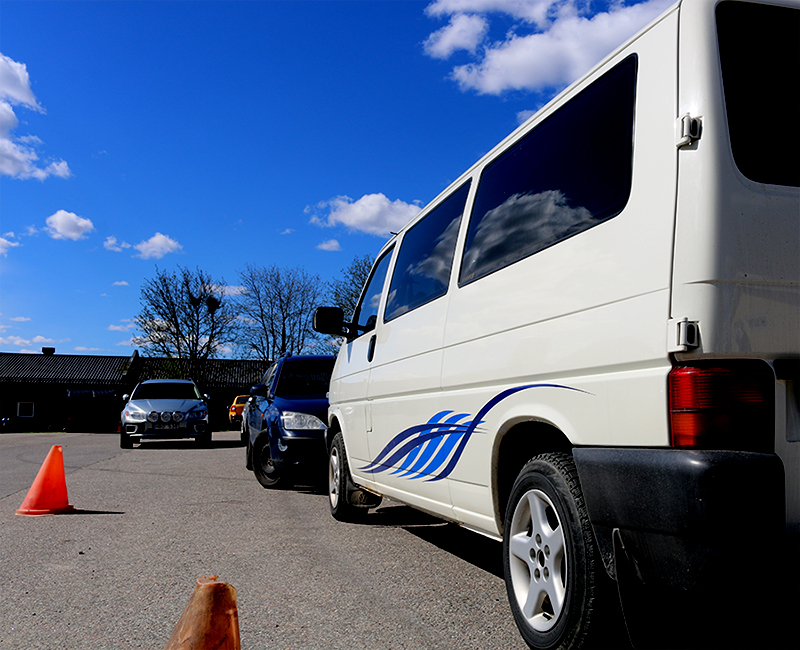Arkivbild. Skåpbilen på bilden har inget med brottet att göra. © Crimecentral