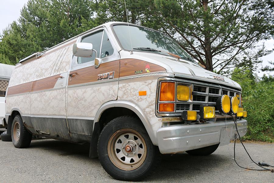 Fordonet som användes vid kidnappningsförsöket. © Crimecentral