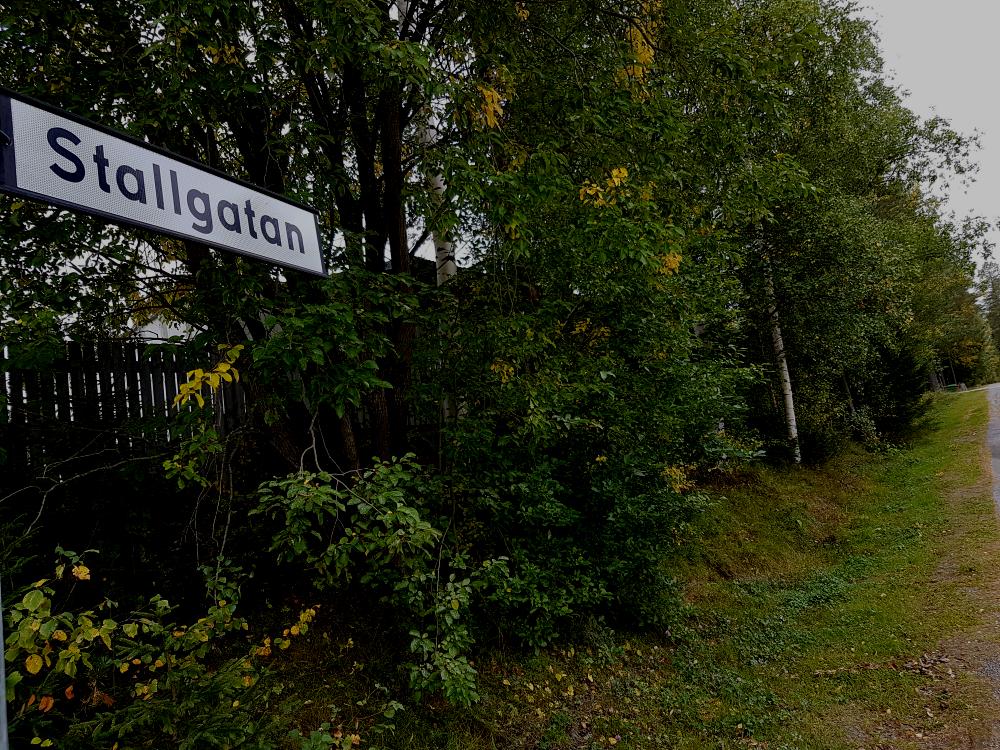 Det var här på Stallgatan som kvinnan blev överfallen och våldtagen. © Crimecentral